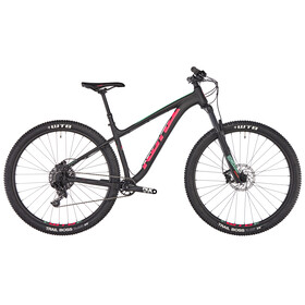 Kona Honzo matt black/red/mint green